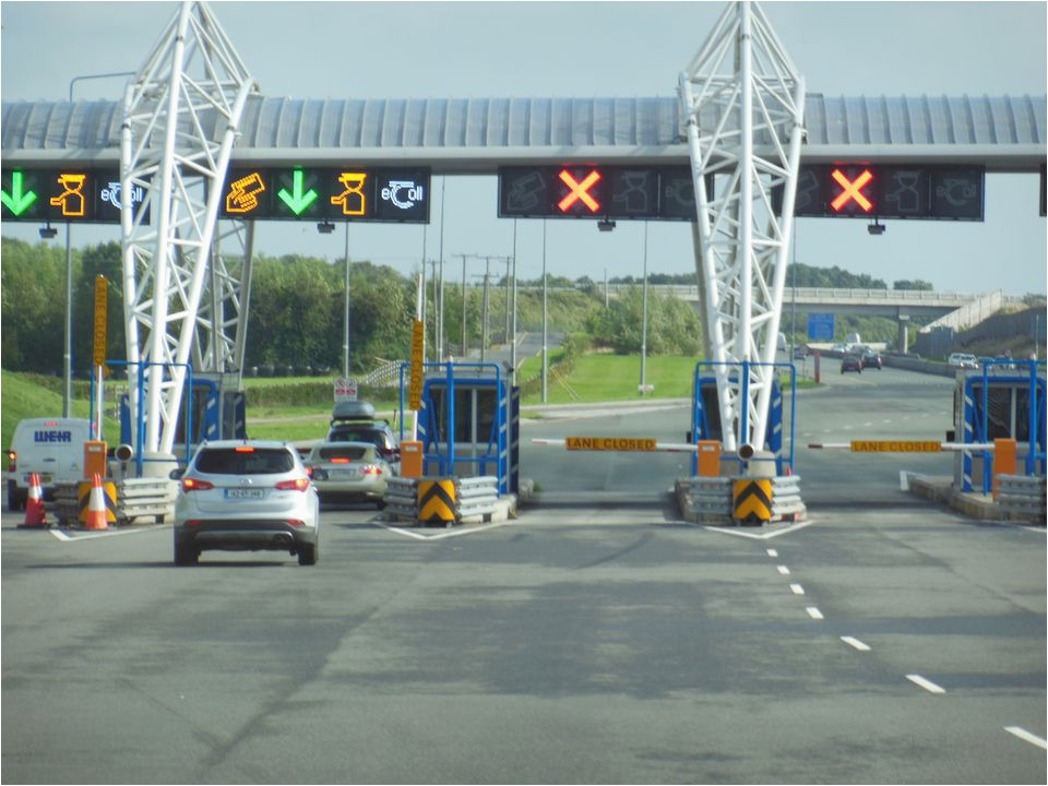 know the cost when driving toll roads in ireland