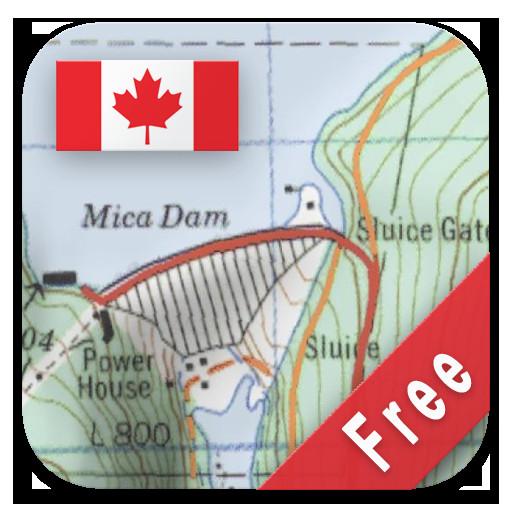 canada topo maps free aplikacje w google play