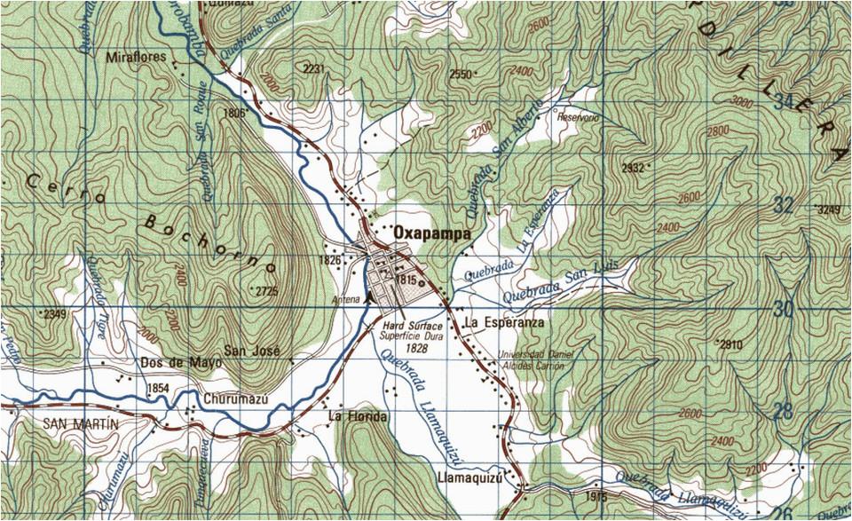 free topographic maps of peru 1 100 000