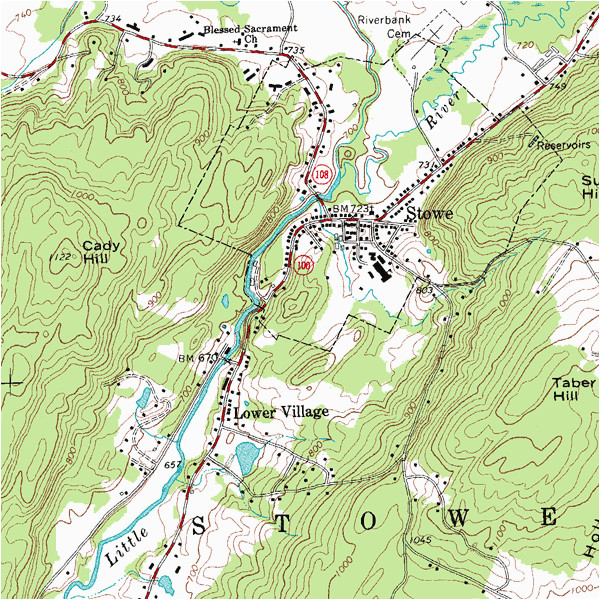topographic map wikipedia