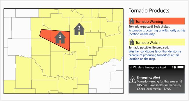 understand tornado alerts