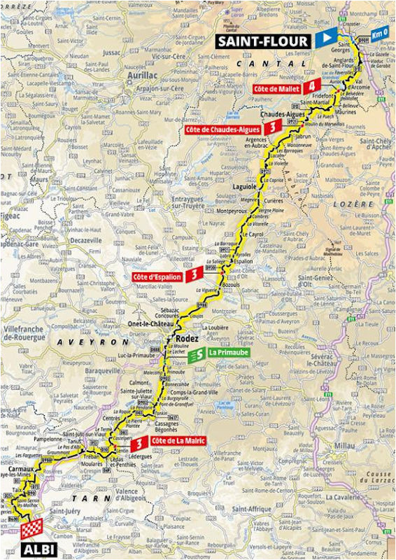 10 etapa saint flour albi tour de france 2019