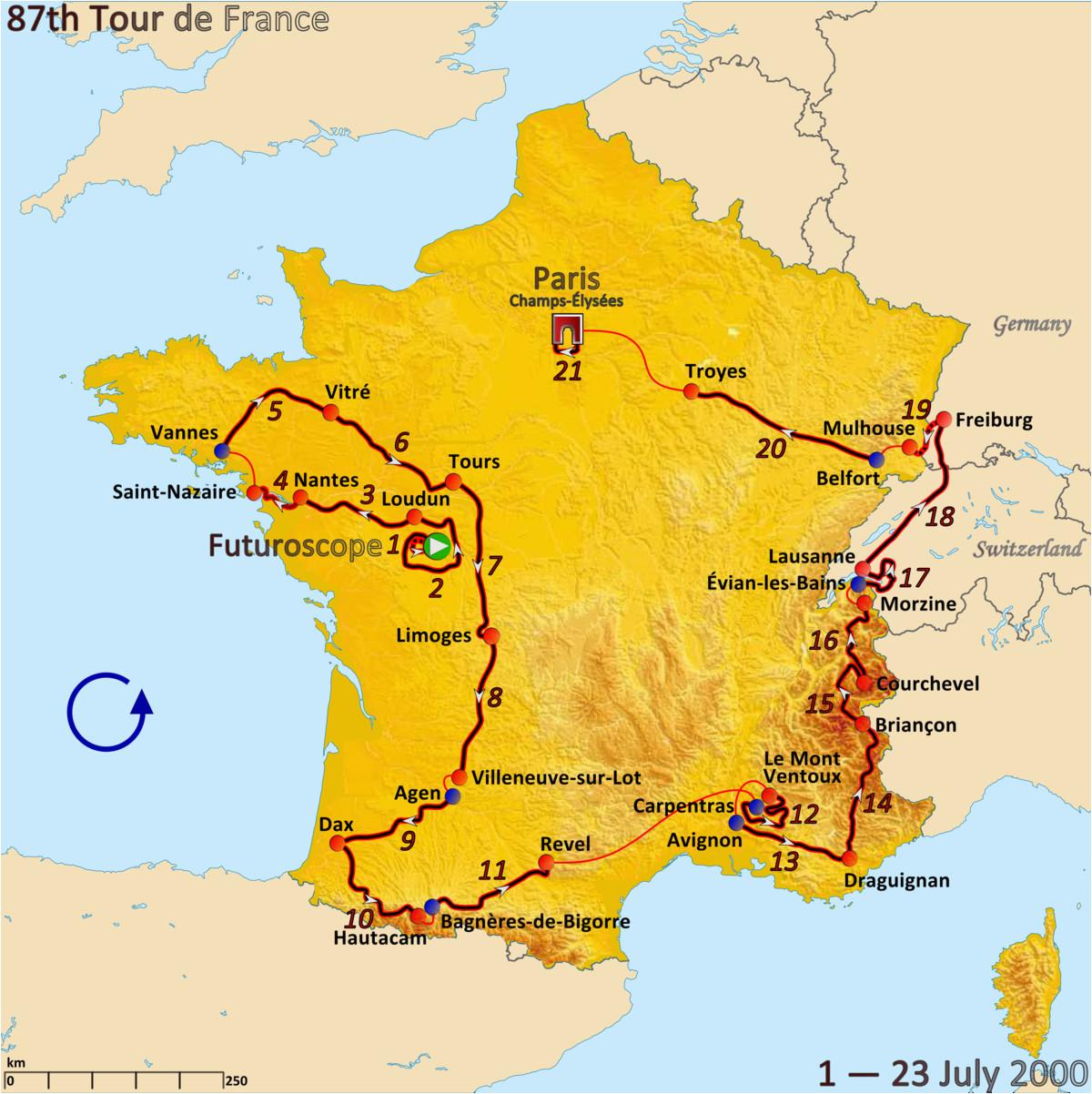 tour de france 2000 wikipedia wolna encyklopedia