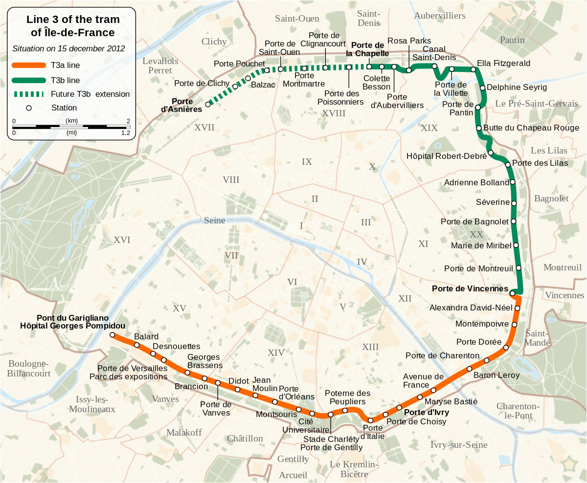 a le de france tramway lines 3a and 3b wikipedia