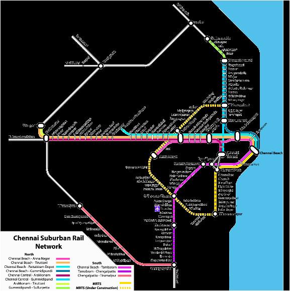 chennai mrts train timings route map chennai metro trin