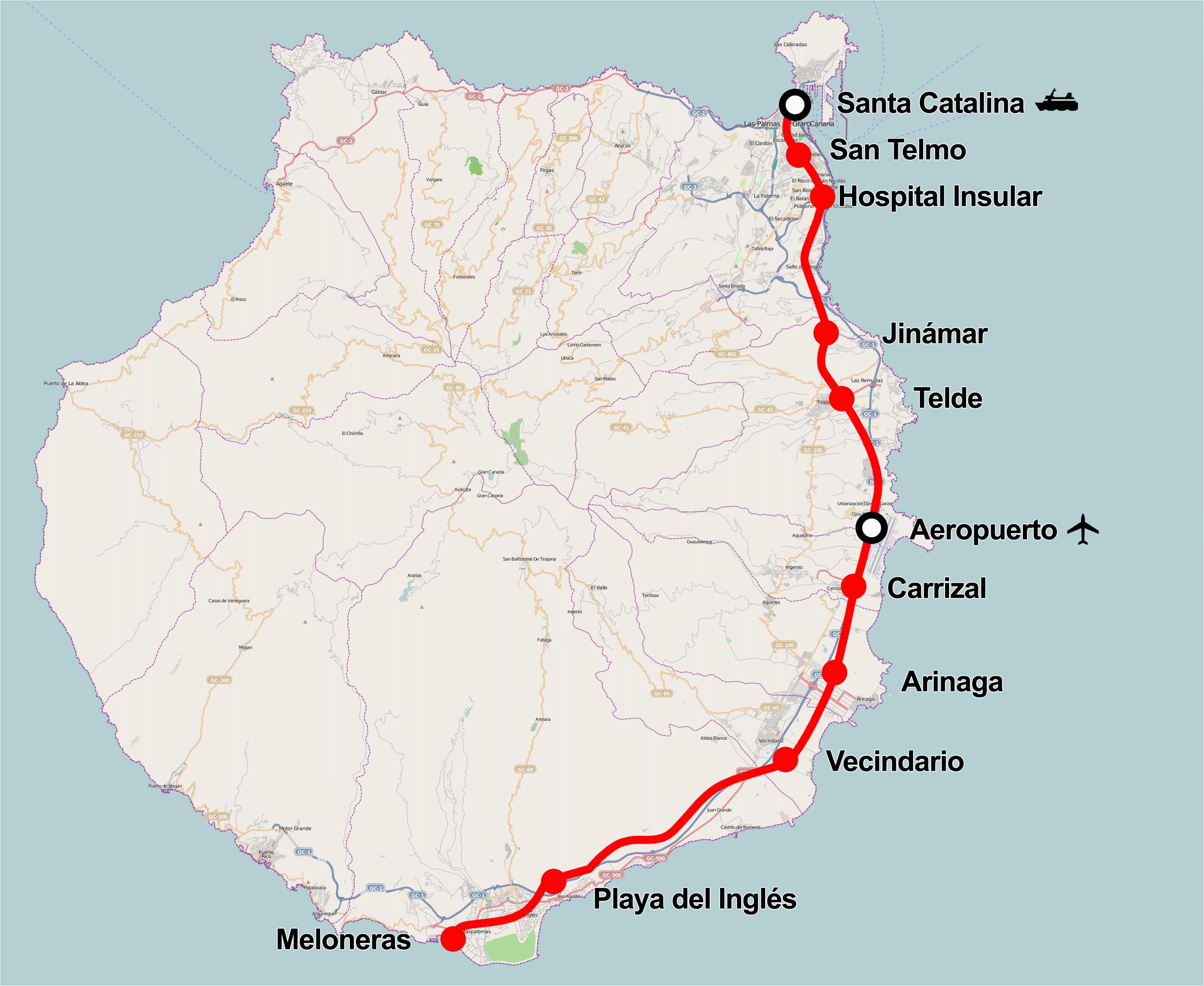 tren de gran canaria wikipedia