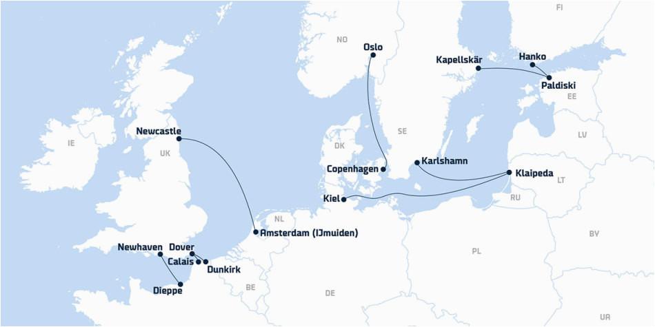 eura pske plavby a trajektove preplavby trajekty pre pasaa ierov dfds