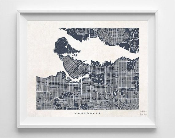 vancouver canada map 19 95 shipping worldwide click