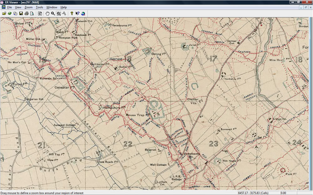 british trench maps dvd mapping the front