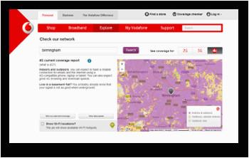 o2 vs vodafone comparing their coverage 4g speeds roaming deals