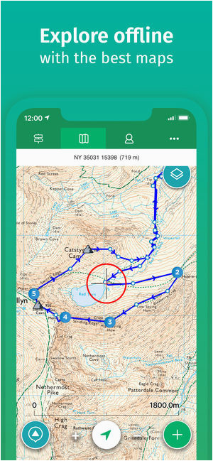 viewranger hike ride or walk on the app store