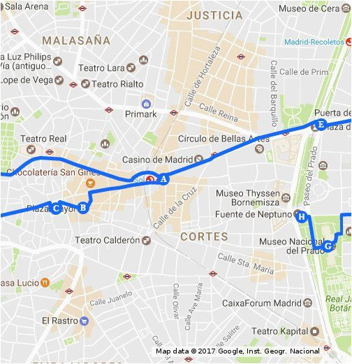 walking tour of madrid in 1 day travel in 2019 walking tour
