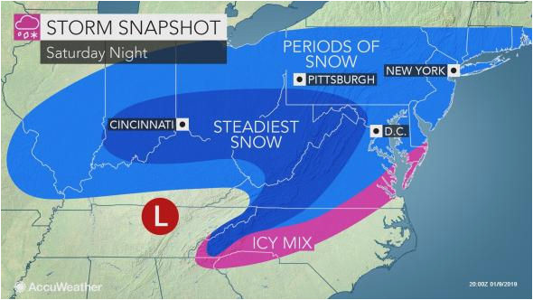 n j weather forecast updated for potential weekend snow expect