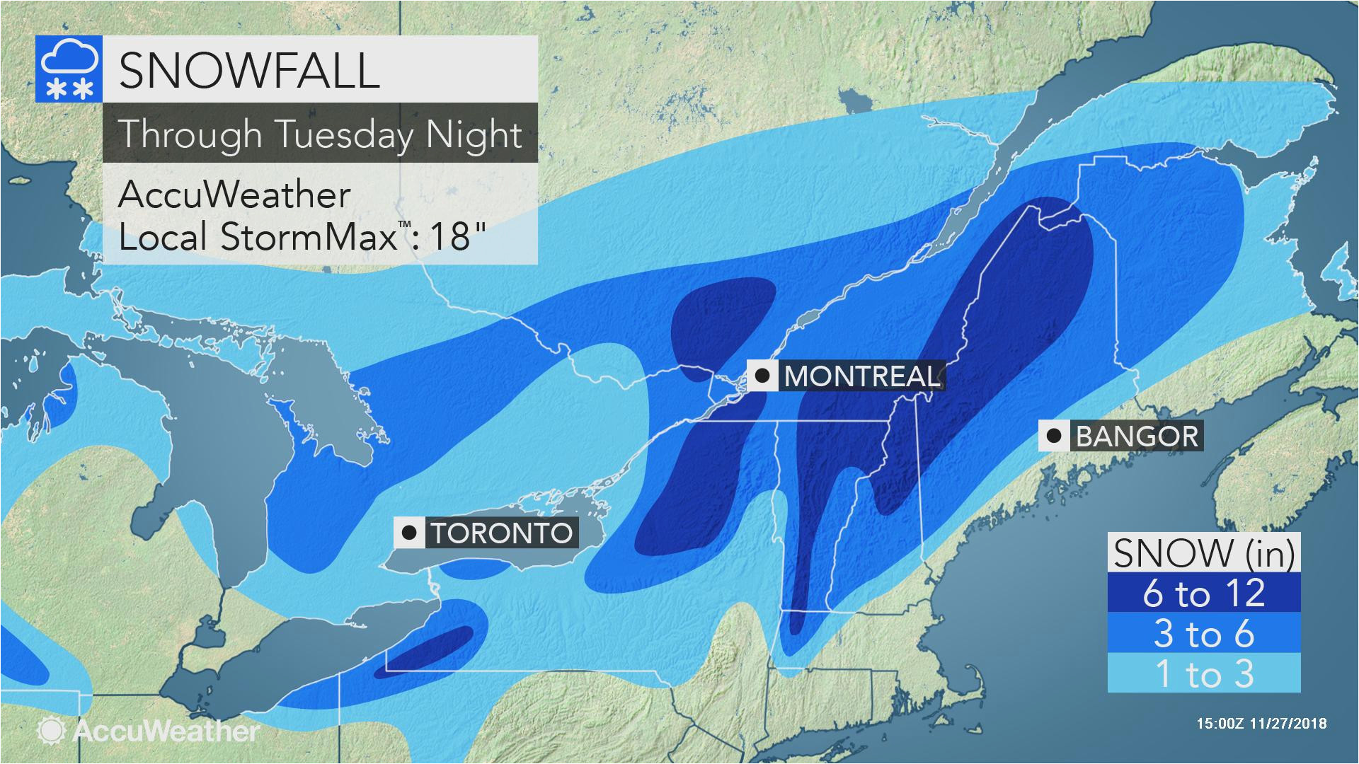 nor easter to lash northern new england with coastal rain and heavy