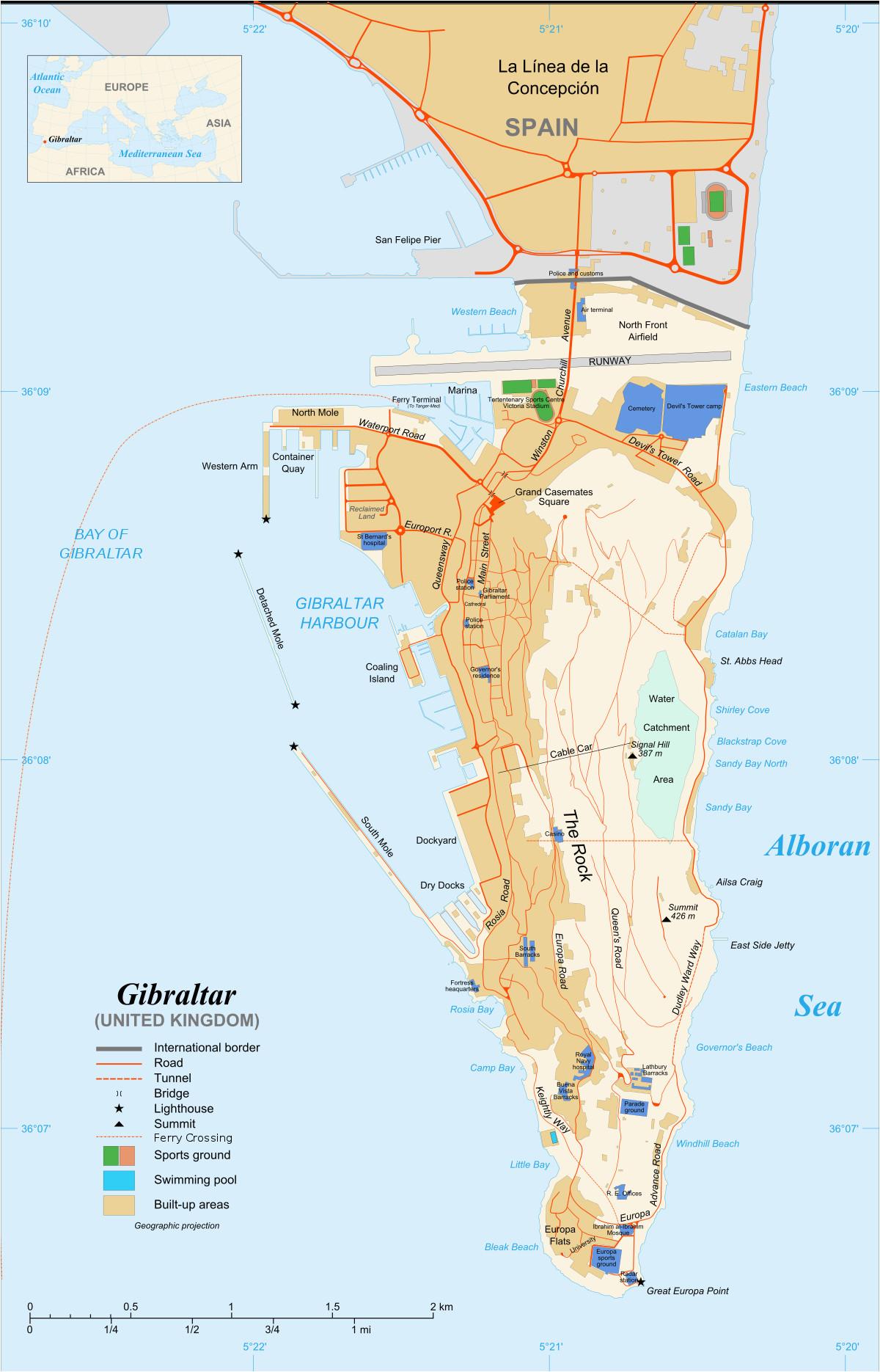 rock of gibraltar wikipedia