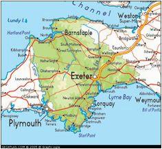 23 best devon maps images in 2014 devon map plymouth