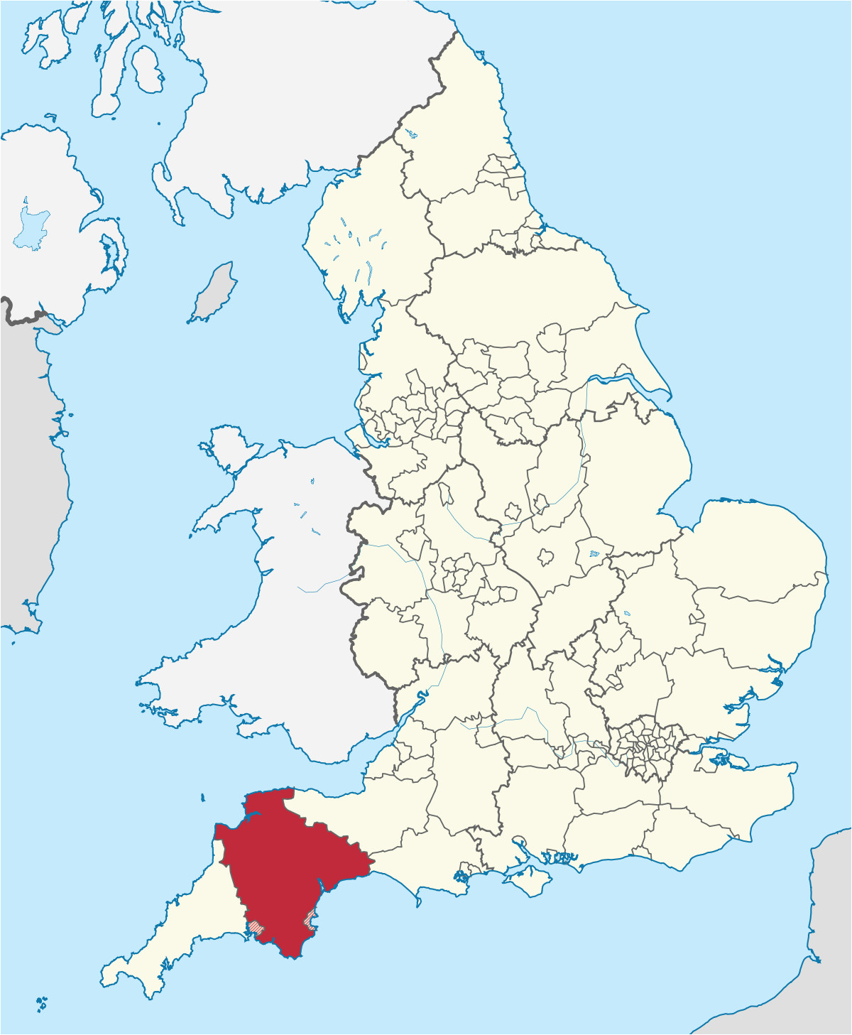 Where is Devonshire England On the Map Devon England Wikipedia