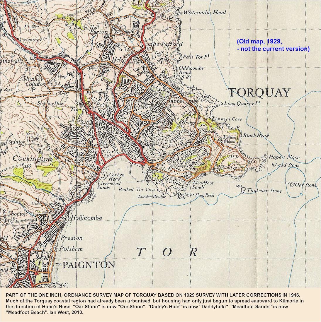 torquay geological field guide by ian west