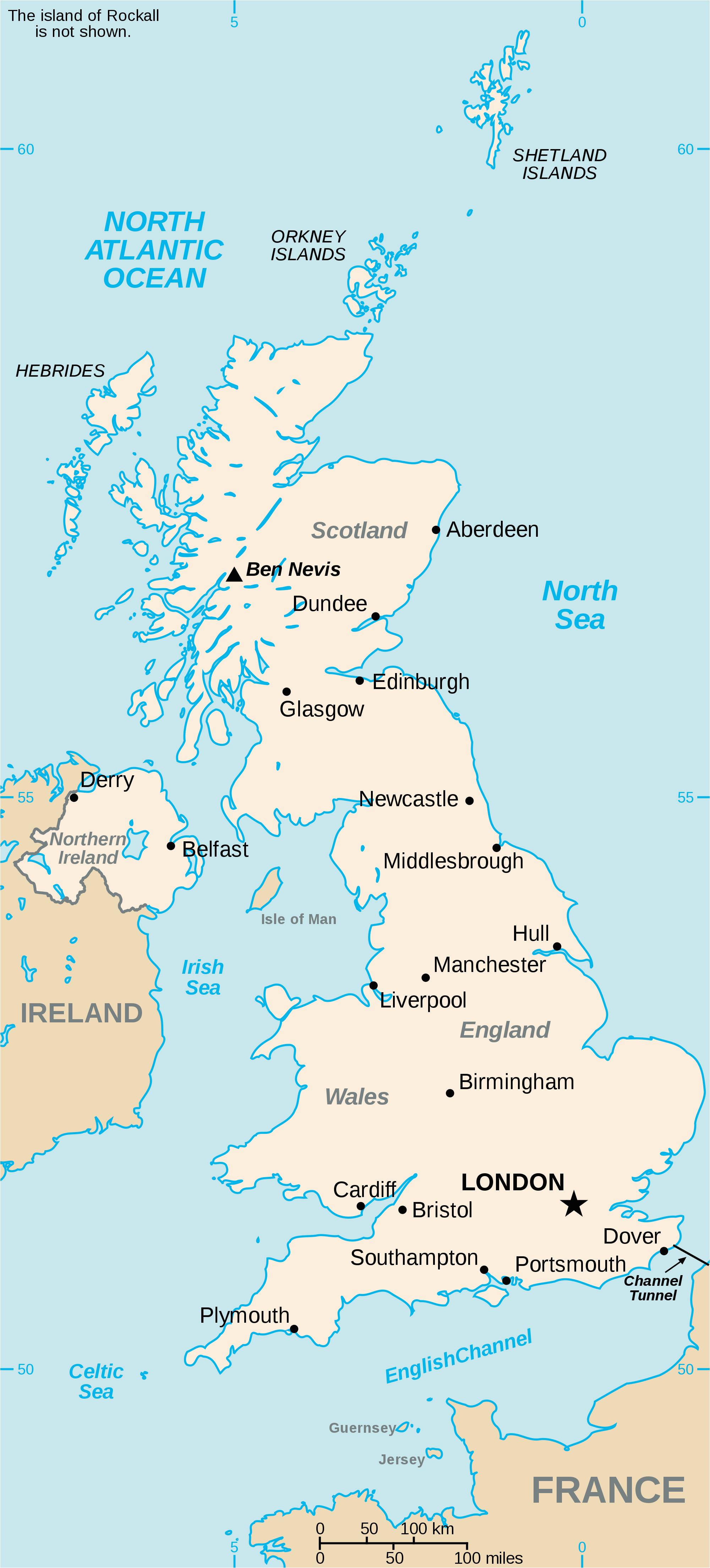 list of united kingdom locations wikipedia