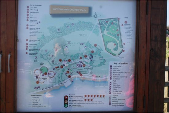 map picture of carnfunnock country park larne tripadvisor