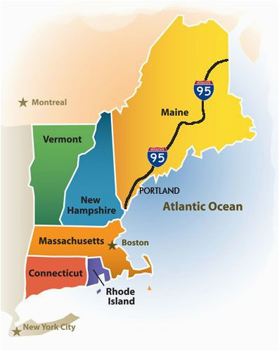 greater portland maine cvb new england map new england maps in