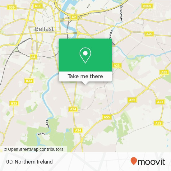 how to get to 0d in belfast by bus moovit