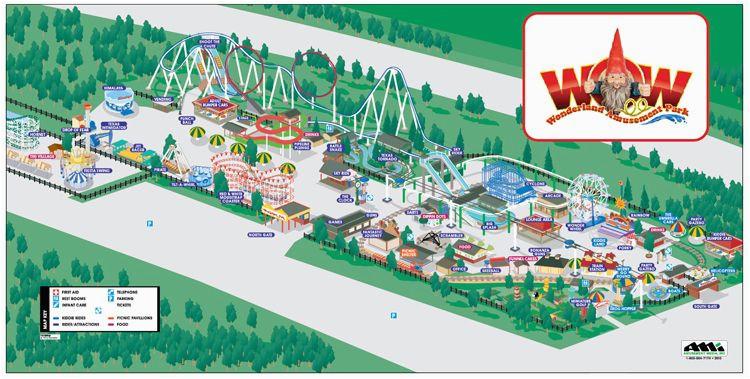 image result for map of wonderland park amarillo texas