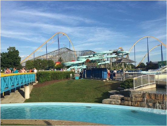 the end of a long day at canada s wonderland picture of