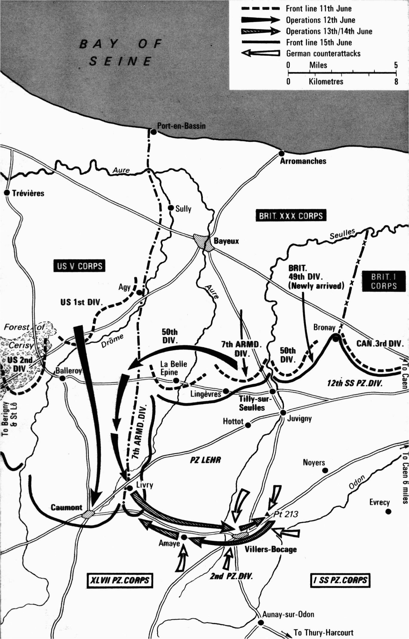 pin by ralph zuljan on maps of world war ii battle of normandy