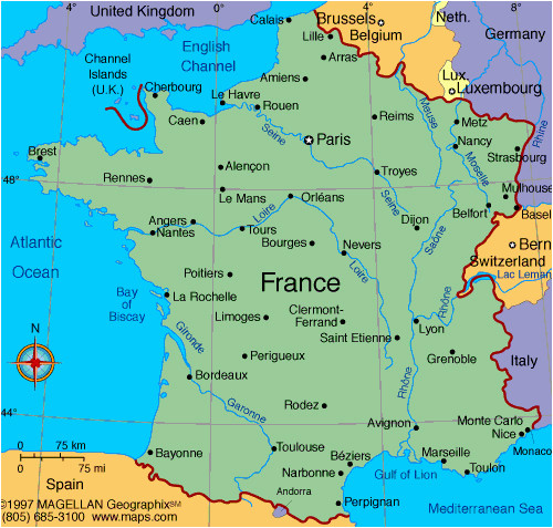 versailles france map and travel information download free