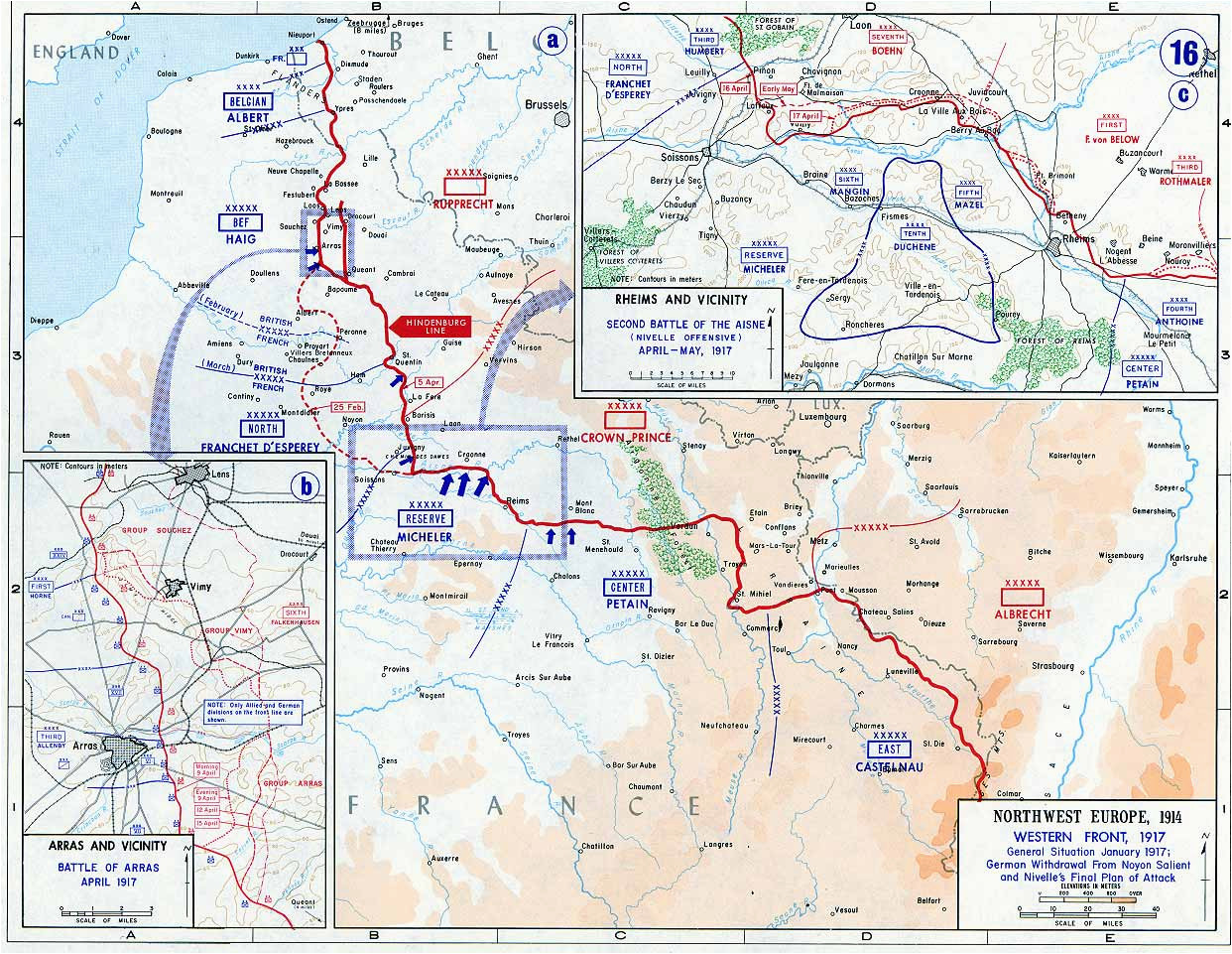 western front tactics 1917 wikipedia