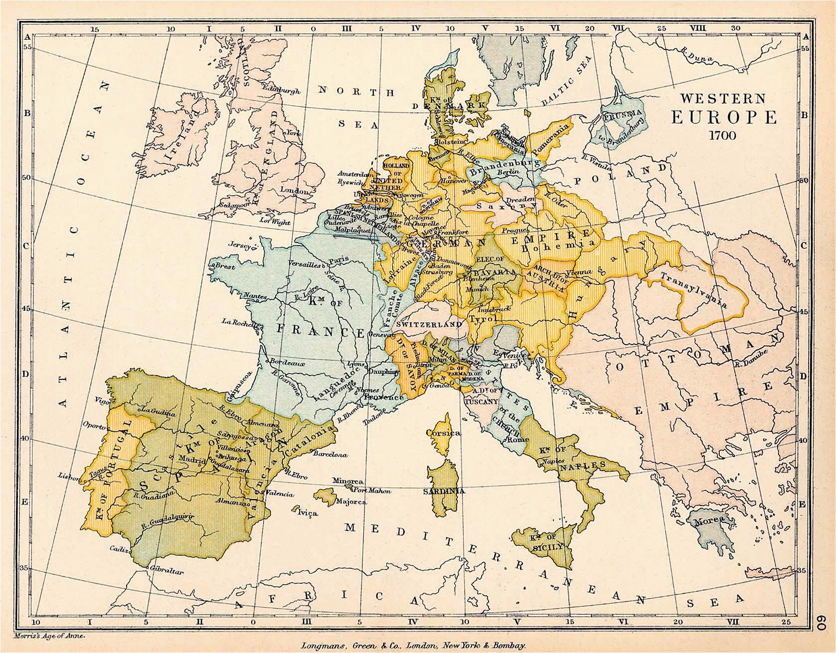 17th Century Europe Map atlas Of European History Wikimedia Commons