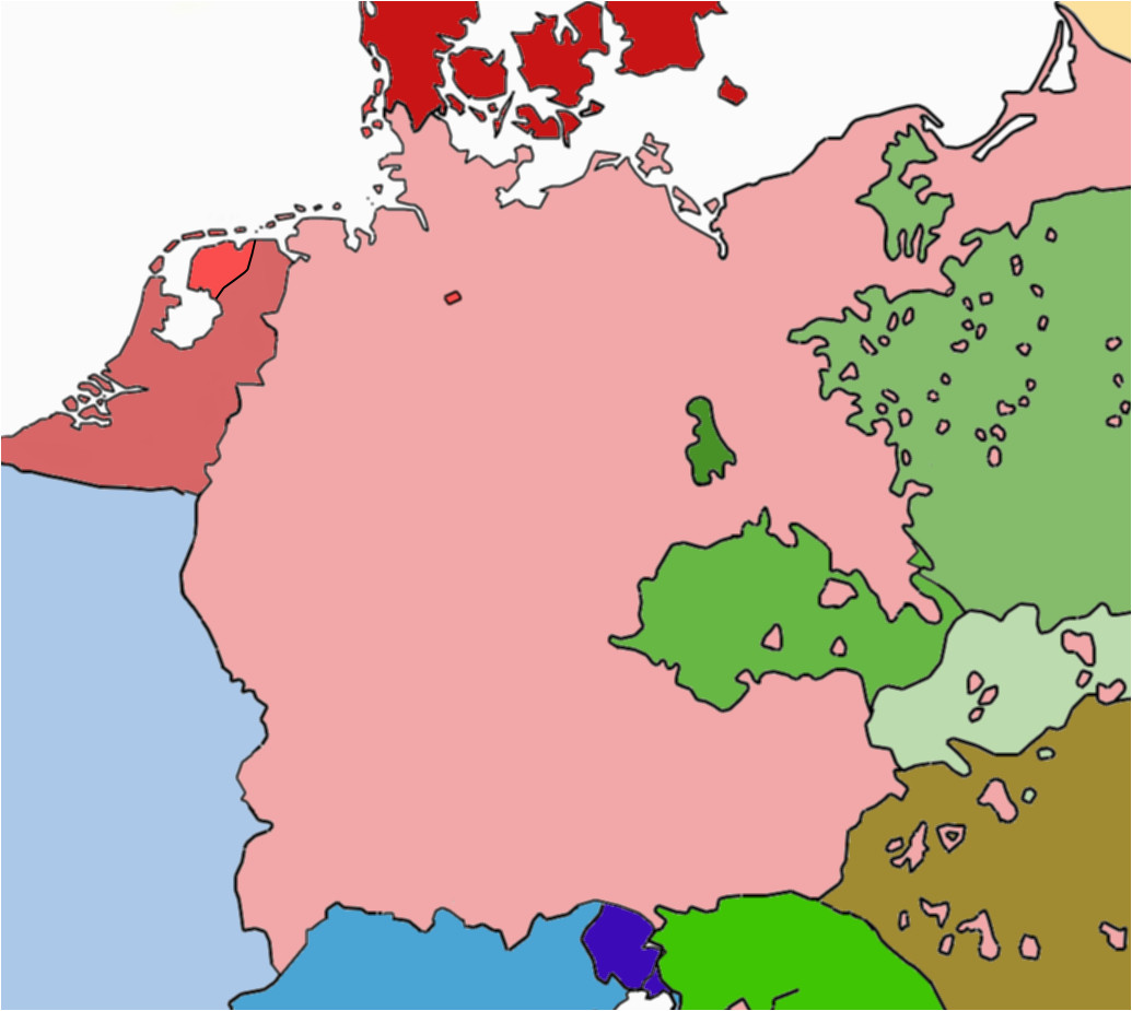 1910 Europe Map Linguistic Map Of Central Europe 1910 without Borders