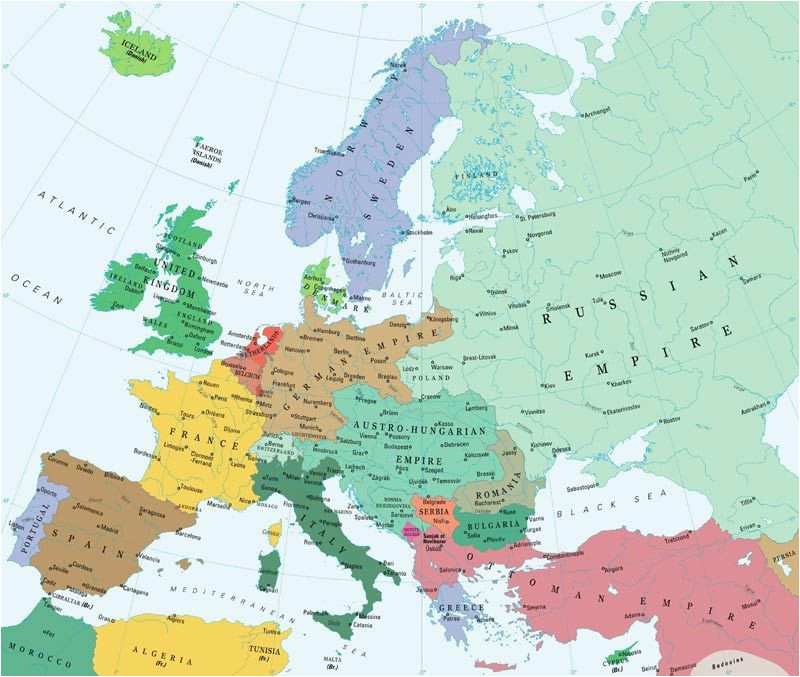 map of europe in 1885 croatia and bosnia as part of the
