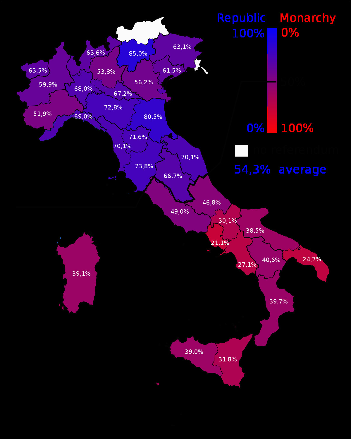 the 1946 referendum on whether italy should remain a