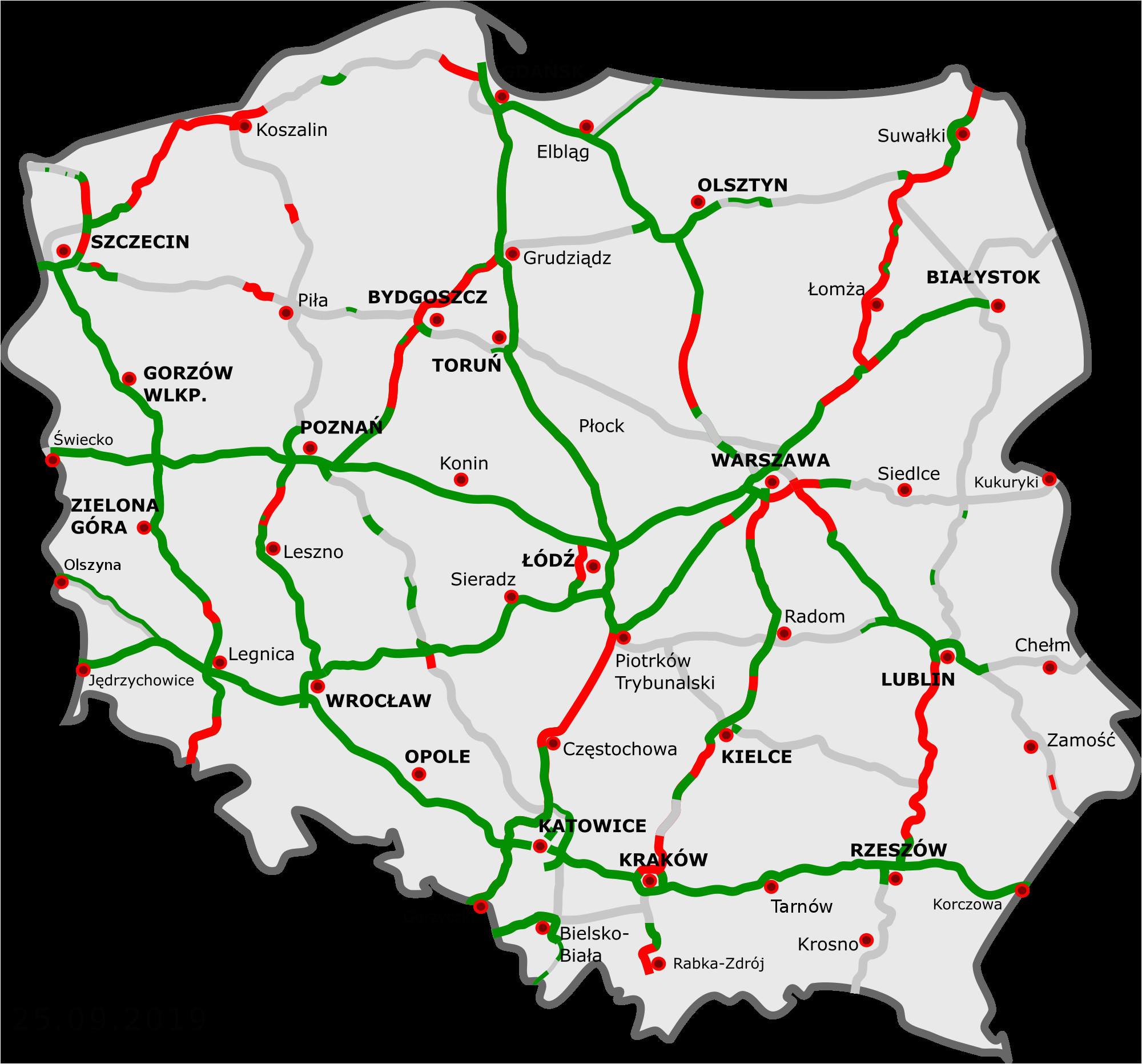 autobahn polen wikipedia