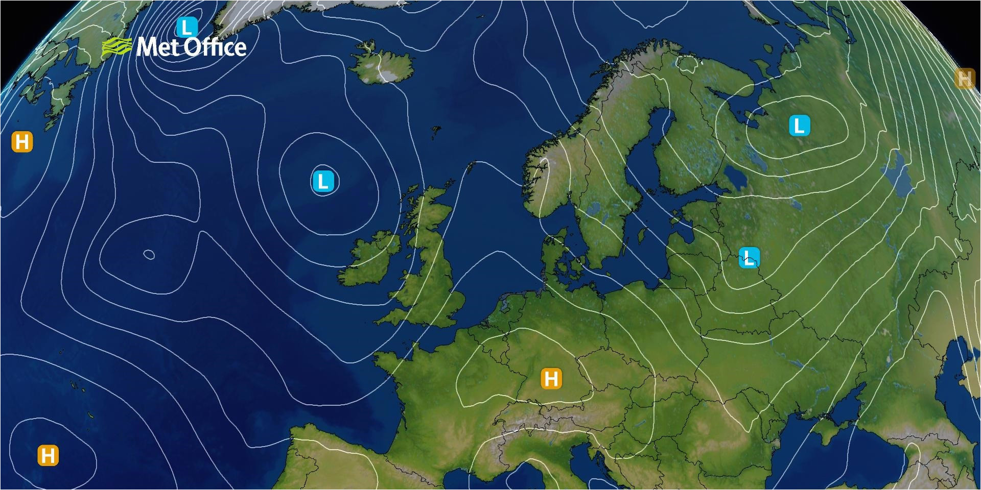 surface pressure charts met office
