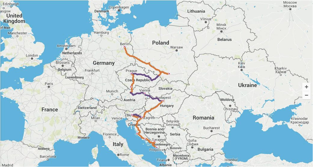 gateway to eastern europe itinerary travel time 2 4 weeks