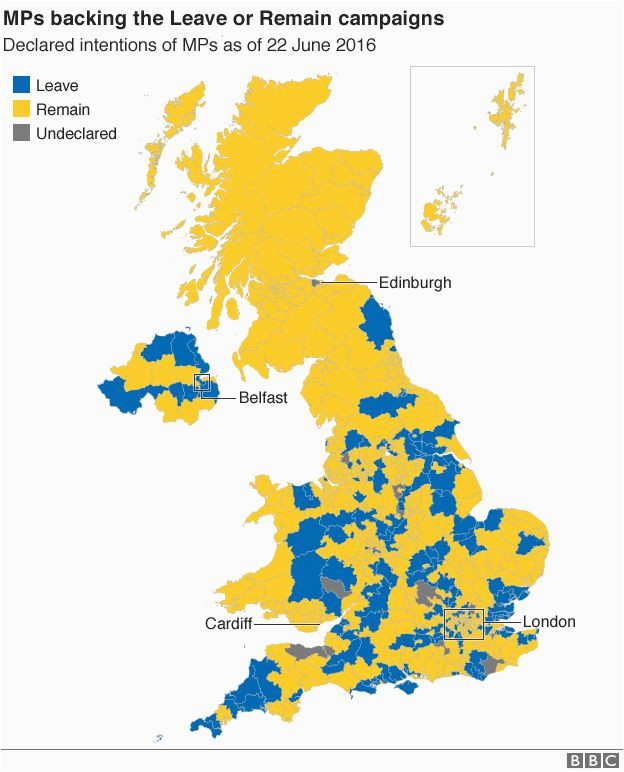 eu vote where the cabinet and other mps stand bbc news