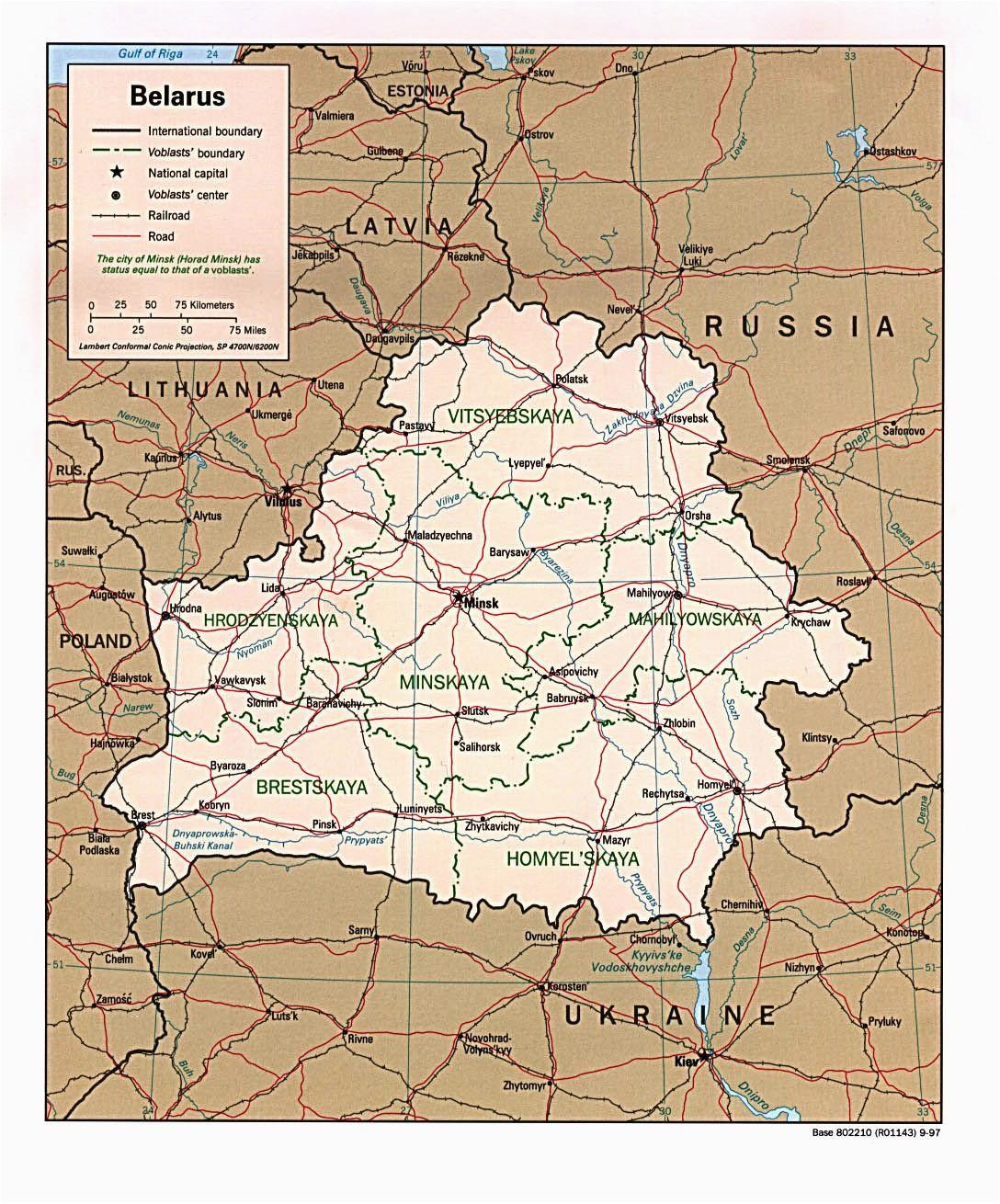 belarus map belarus weia russland reisefuhrer und reisetipps