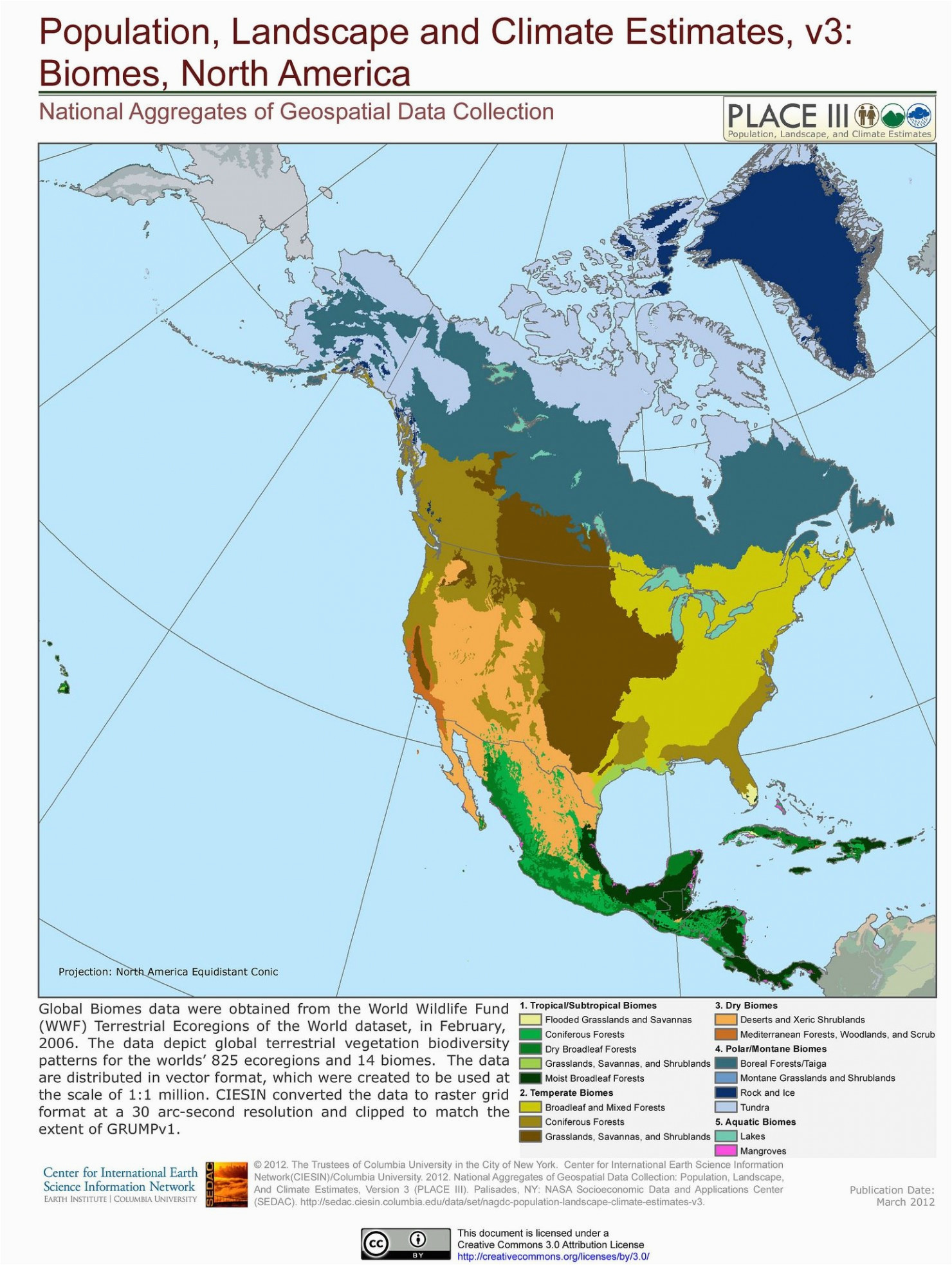 north america biome map climatejourney org