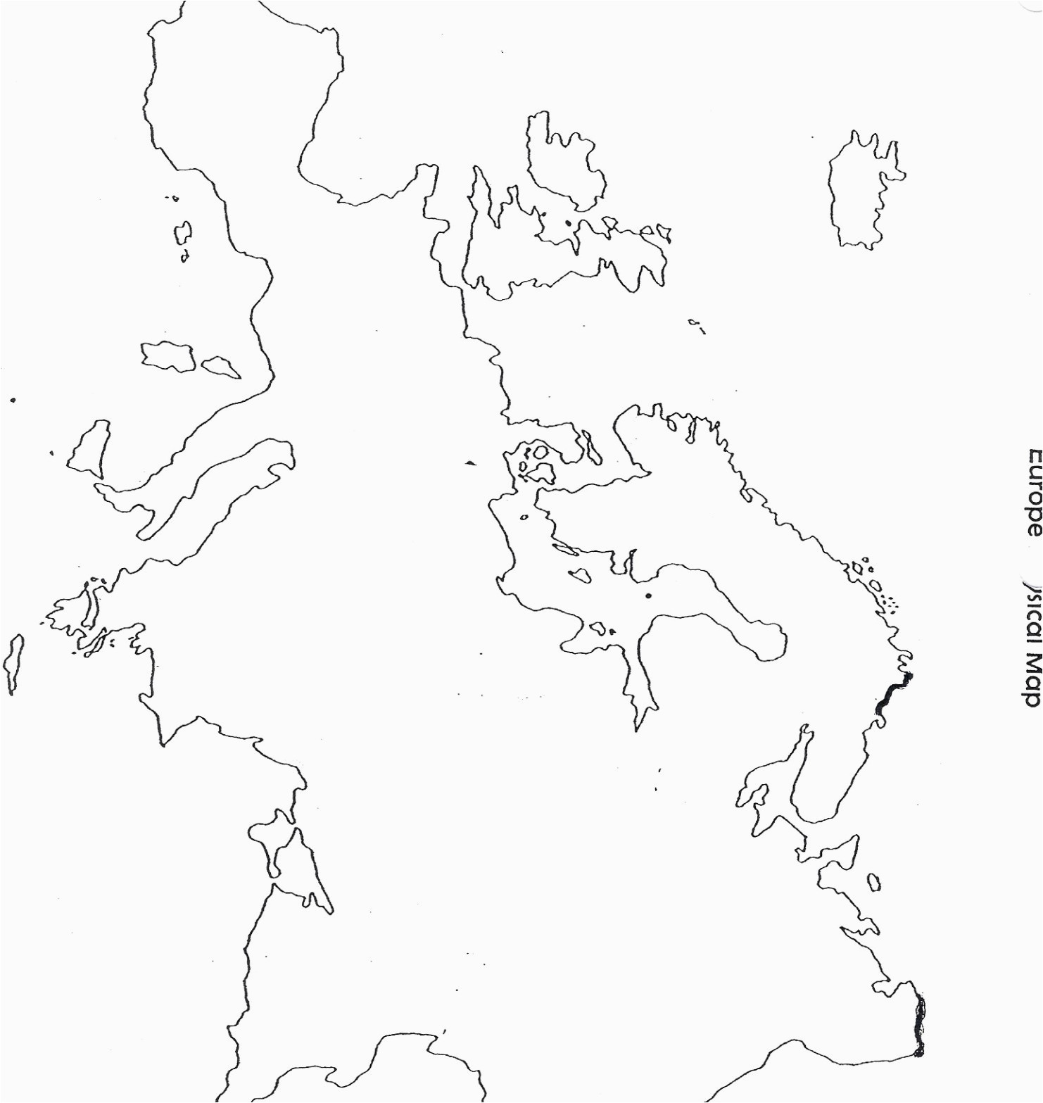 blank map europe climatejourney org