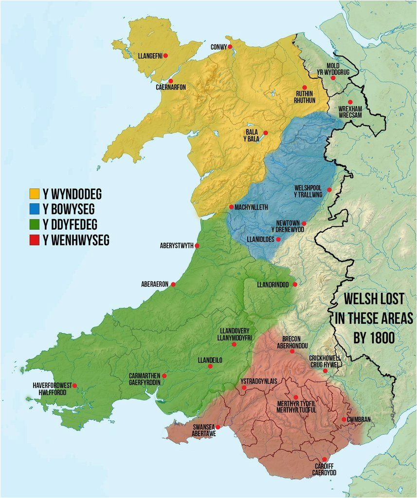 map of welsh dialects made by me based off a collection of