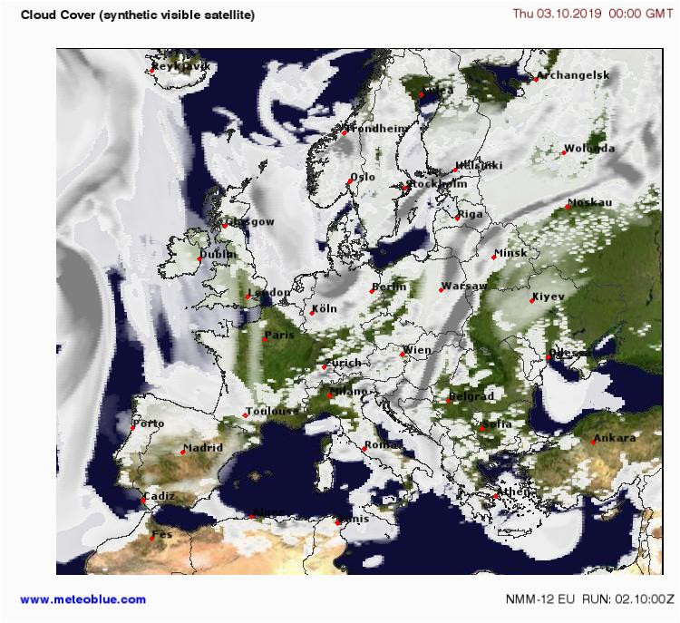 satellite cloud cover