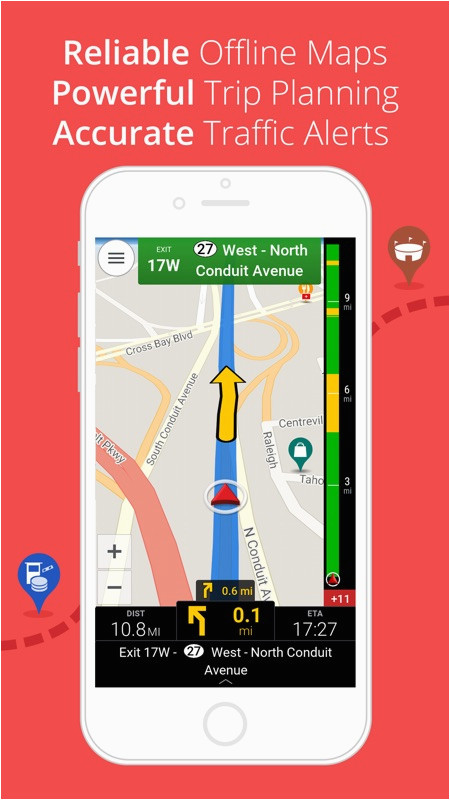 copilot usa gps navigation offline maps online game
