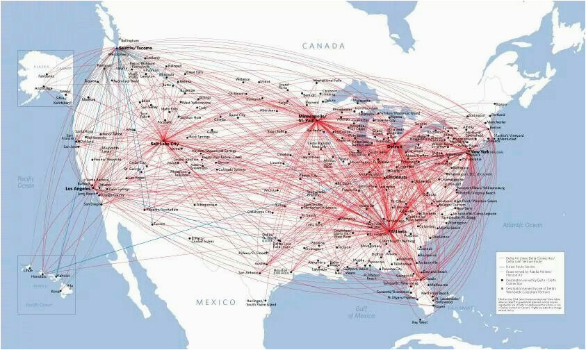 aviation maps best of delta airlines route map travel the