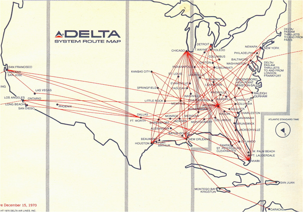 dl dfw hub routes airliners net