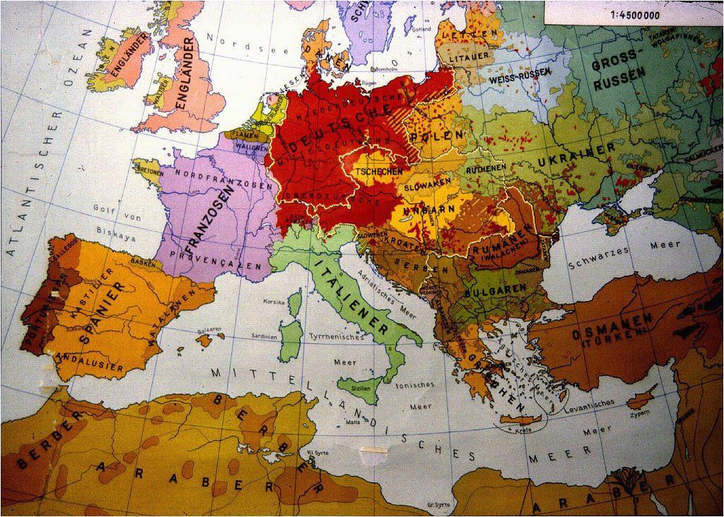 Ethnic Map Of Europe 1914 European Ethnic Map 1914 Map Europe Maps European Map