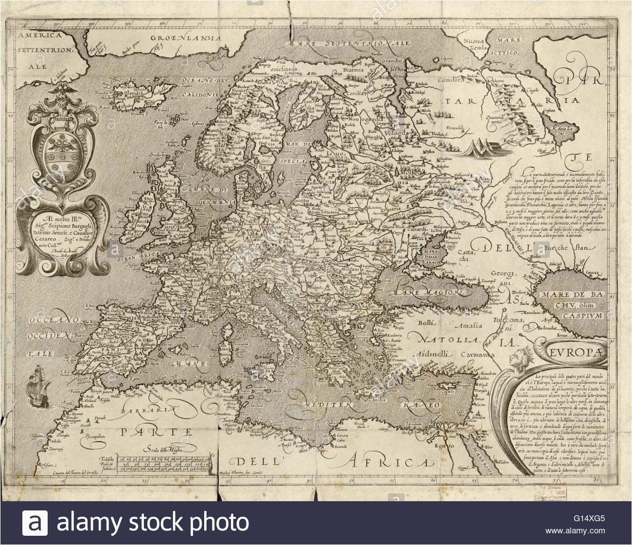 historical map europe stock photos historical map europe