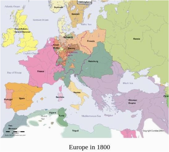map of europe in 1800 the world historical maps map ap